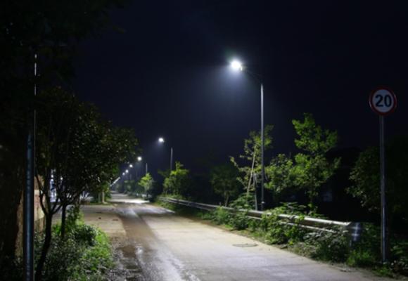 贵州农村路灯